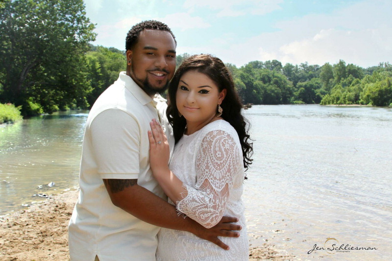 Margarita Garcia and Donte Orange